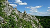 Home Comforts Peel-n-Stick Poster of Landscape Rocks Nature Hiking Limestones Poland Poster 24x16 Adhesive Sticker Poster Print