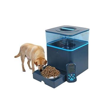 LL Alimentador Automático De Mascotas, Dispensador Fisico Perros, Gatos Y Pequeños Animales