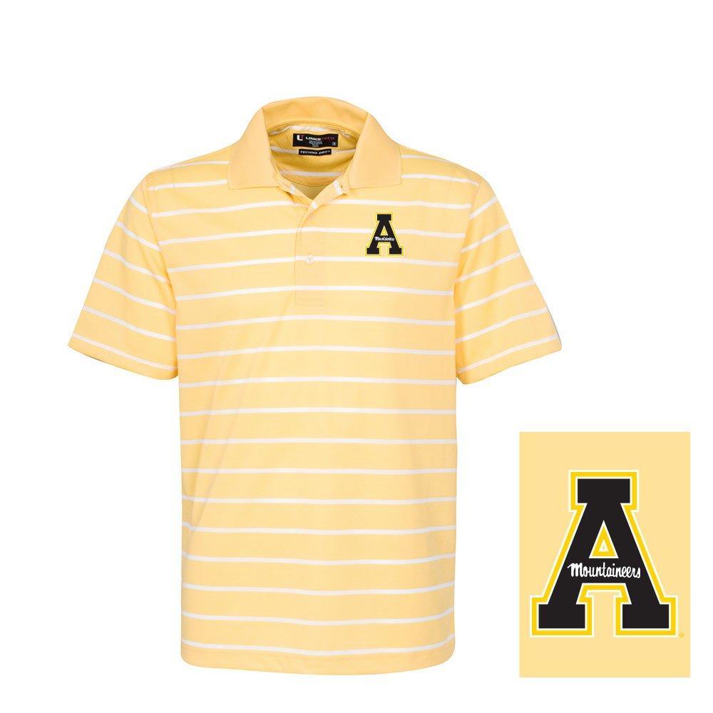 Oxford NCAA Mens Mens Brooks Classic Stripe Polo