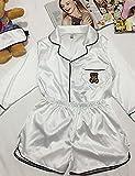 WWQY Women's Pajama , white , s
