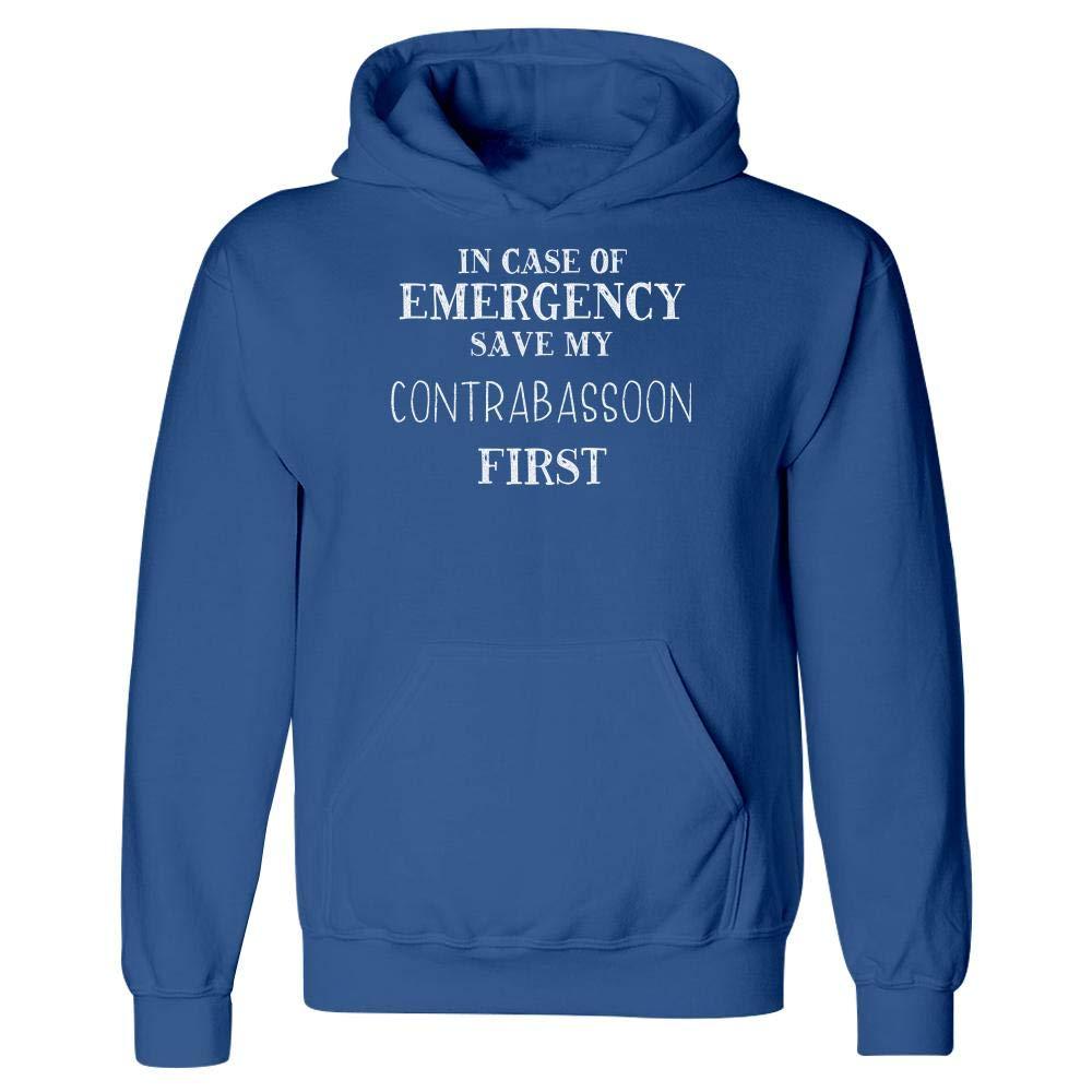 Hoodie in Case of Emergency Save My Contrabassoon
