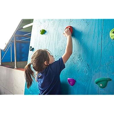 Slackers Rock Climbing Holds Kit: Toys & Games