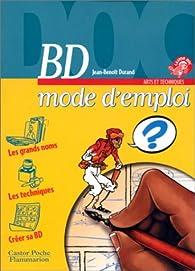 BD mode d'emploi par Jean-Benoît Durand