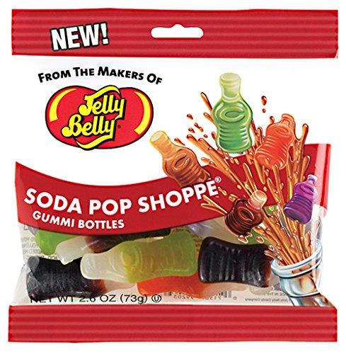 Jelly Belly Soda Pop Shoppe Gummi Candy - Jelly Belly Jelly Bean Company - 2.6 Oz Retail Bag Gummy Candy (Gummy Soda compare prices)