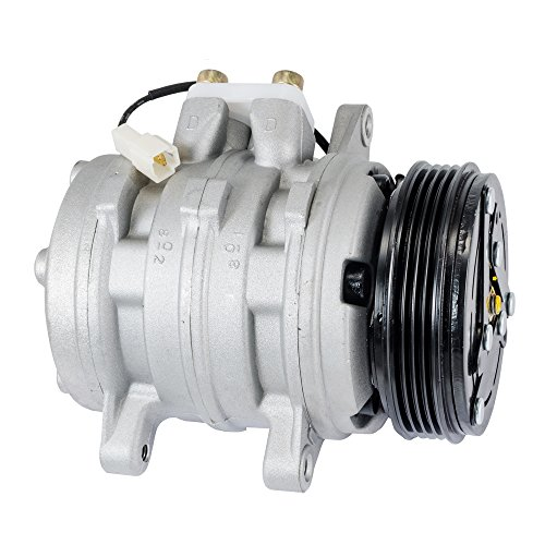 Hex Autoparts A/C AC Compressor for 1989-1994 Suzuki Swift Sidekick 96-98 Suzuki X-90 1.6L & Geo Metro Tracker