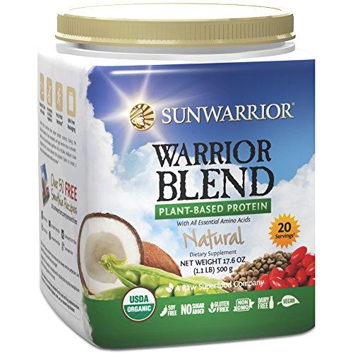 Sunwarrior Warrior Plant Based Protein Servings product image