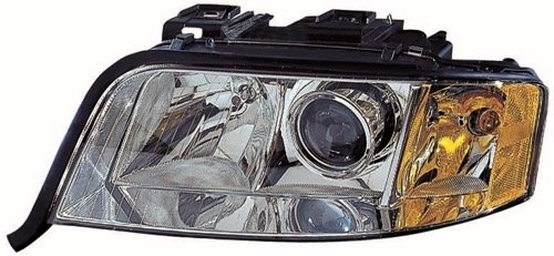Go-Parts » OE Replacement for 2003-2004 Audi A6 Quattro Front Headlight Headlamp Assembly Front Housing/Lens/Cover - Left (Driver) Side - (3.0L V6 AWD + 2.7L V6 AWD) 4B0 941 003 BL AU
