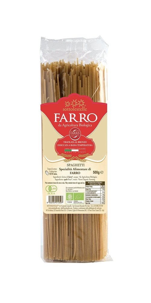 Espaguetis de espelta BIO 500 g baja-perfiles: Amazon.es ...