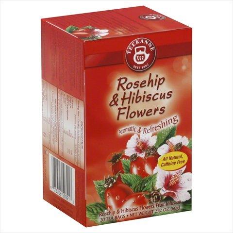 Teekanne Rose (TEEKANNE TEA HRBL ROSE HIP, 20)