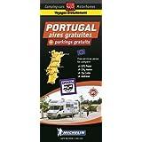Portugal : aires gratuites + parkings gratuits : 1/400 000