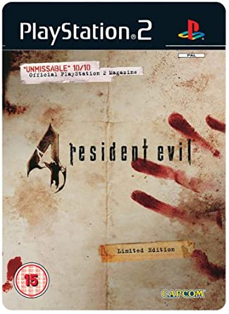 Resident evil 4 playstation 2 box art cover by pan.
