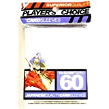 Player's Choice Yu-Gi-Oh! White Sleeves - Designed for Smaller Gaming CCGs - Deck Protectors by Player's Choice
