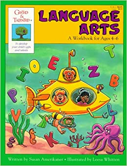 Book Language Arts: Workbook for Ages 4-6 (Gifted & Talented)