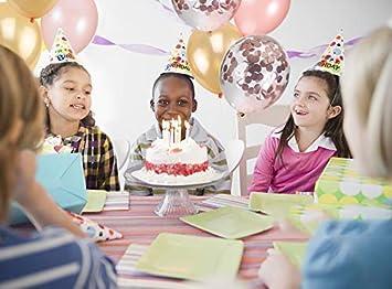 cumplea/ños Decoraciones de Fiesta de Ceremonia Baby Shower graduaci/ón XUNKE 60 Piezas 12 Pulgadas Globos de Confeti Globos de l/átex Globos de Colores de Helio Perla para Boda