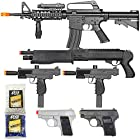 BBTac Airsoft Gun Package - Black Ops - Collection of Airsoft Guns