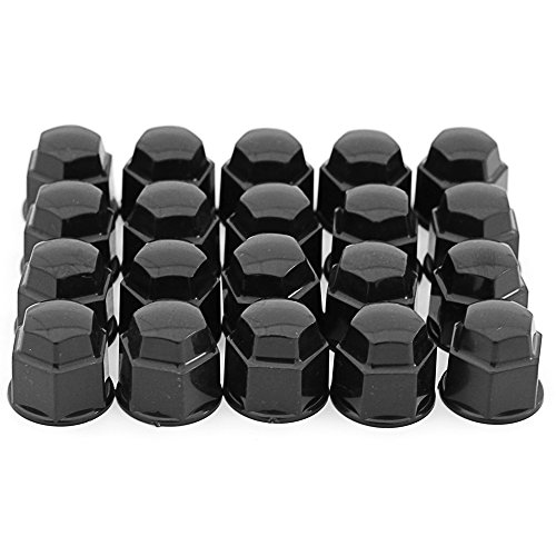 - OxGord Lug nut Cover (17mm, Black)