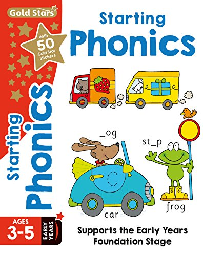Price comparison product image Gold Stars Starting Phonics Ages 3-5 Early Years: Supports the Early Years Foundation Stage