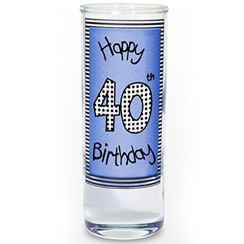 40th Happy Birthday Shot Glass Gifts And Cards Easter Gift