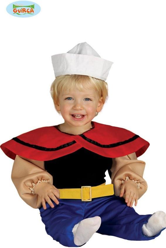 Disfraz de marinero baby 12-24 meses: Amazon.es: Juguetes y juegos