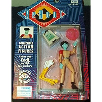 Reboot Dot and Cecil Action Figure: Toys & Games