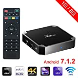 Winbuyer X96 Mini Android TV Box 1GB +8GB Android 7.1 4K Smart TV Box 64bit Quad Core CPU