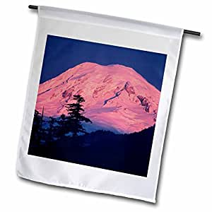 Danita Delimont - Volcanos - Washington, Mt Rainier, inactive volcano - US48 KSC0016 - Kevin Schafer - 18 x 27 inch Garden Flag (fl_96448_2)
