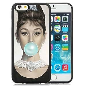 Audrey Hepburn Hottest Customized Design iPhone 6 4.7 Inch TPU Cover Case