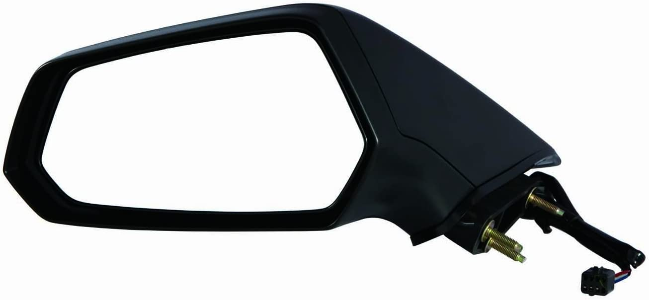 Depo 335-5411L3EB Chevy Camaro Driver Side Textured Non-Heated Power Mirror