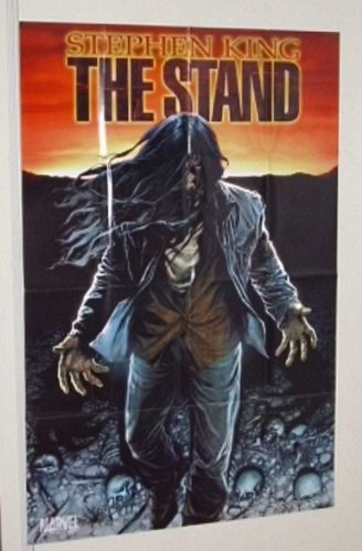 Stephen King The Stand movie adaptation Marvel Comics promotional promo poster feet