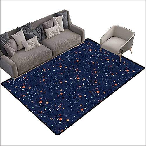 Floor mats for Kids Astrology,Solar System Cosmos 48