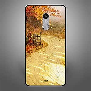 Xiaomi Redmi Note 4 Autumn Forest Pathway