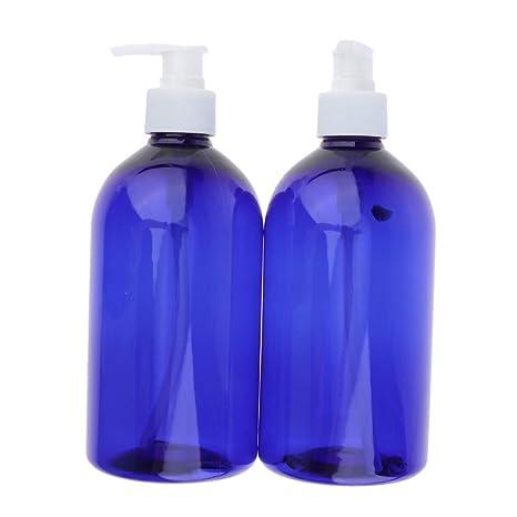 B Blesiya 2 Unids 500ml Botella de Bomba Tubo de Spary Envase de Crema Contenedores Cosméticos