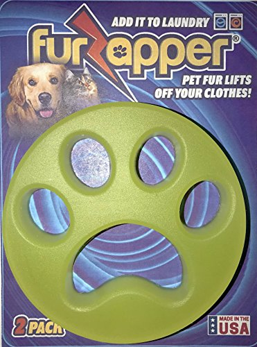 FurZapper 2-PACK- Pet Hair Remover For (Pet Laundry)
