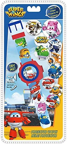 Disney – Super Wings Reloj Digitale Proyector 24 Fotos, wi17002 ...