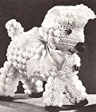 Vintage Crochet PATTERN to make - Baby Lamb Stuffed Animal Soft Toy. NOT a finished item. This is a pattern and/or instructions to make the item only.