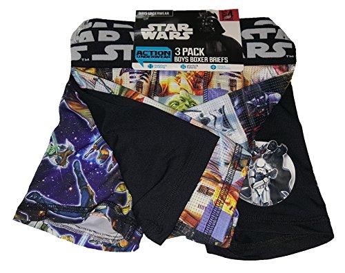 Fashion Star Wars Action Underwear 3 Pack Boxer Briefs - ()