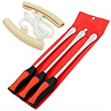 Tire Tool Spoon Motorcycle Bike Kit Changing Lever Irons Case Change Iron