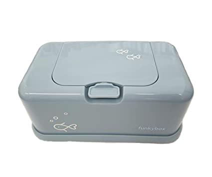 Volver Caja Toallitas Funkybox Peces Azul