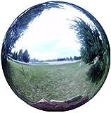 Echo Valley 8702 10-Inch Stainless Steel Gazing Globe, Silver