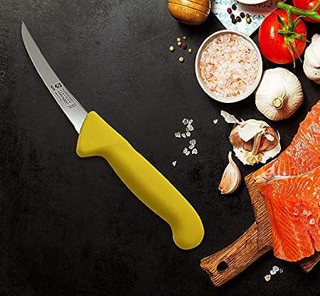 """SMI - 5"""" Solingen Cuchillo para deshuesar, Cuchillo de Carne, Cuchillo de Cocina, Utensilios de Cocina, Cuchillo de Chef Acero Inoxidable"""