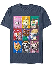 OneTo A Animal Crossing Characters Men's Funny Short T-Shirt