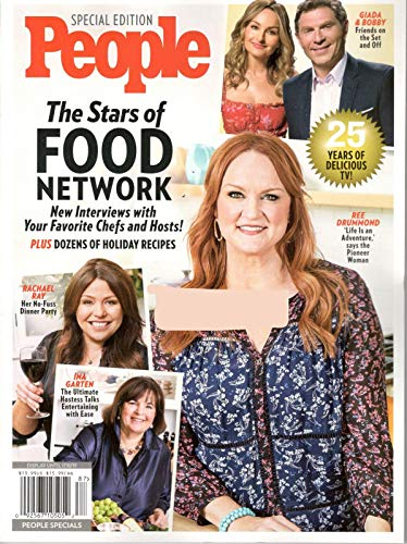 - People Special Edition 2018, The Stars of Food Network