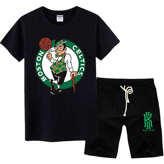 Fan Jersey Set NBA Boston Celtics Kyrie Irving Baloncesto Camiseta ...