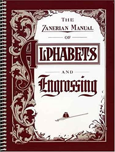 the zanerian manual of alphabets and engrossing zaner bloser rh amazon com Italy Manual Alphabet Manual Alphabet and Numbers