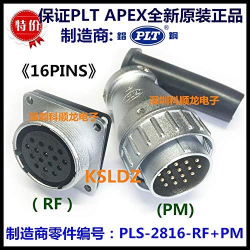 Gimax 1 pair PLT APEX PLS-2816-RF+PM PLS-2816-PM+RF 16PINS The plug The socket metal connector original New