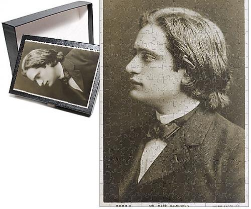 Photo Jigsaw Puzzle of Mark Hambourg - Russian-born pianist