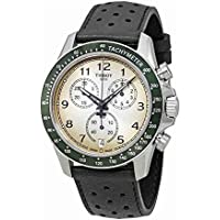 Men's Quartz Stainless Steel Casual Watch, Color:Brown (Model: T1064171603200)