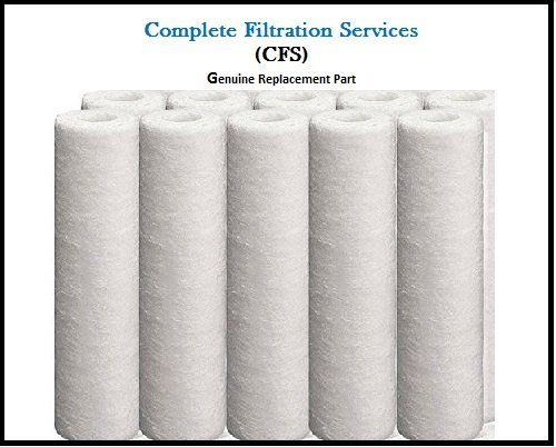(12 Pack of 5 Micron Sediment Filters (12) by CFS )