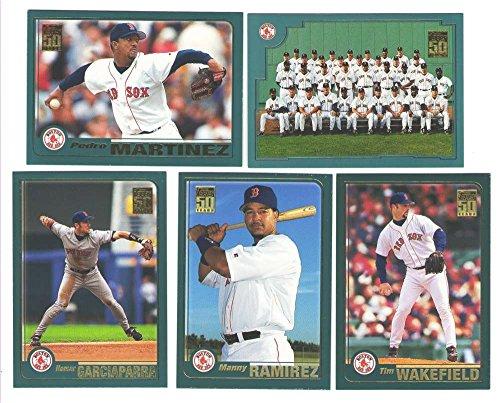 2001 Topps - BOSTON RED SOX Team Set