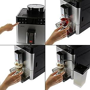 melitta f53 1 101 platzsparender kaffeevollautomat caffeo passione one touch kleiner kompakter. Black Bedroom Furniture Sets. Home Design Ideas